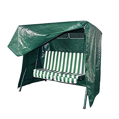 QEES Copertura per sedia a dondolo, resistente e impermeabile a 3 posti a dondolo, copertura per mobili da cortile JJZ1657