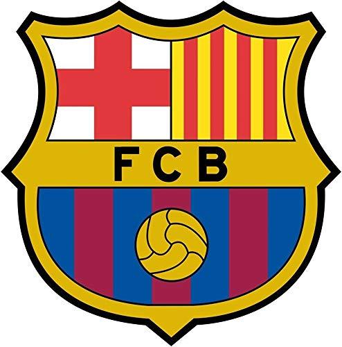 Wandtattoo Fussball logo FC Barcelona Wandaufkleber Vinyl Wandaufklebe