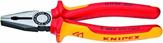 KNIPEX - 03 08 200 SBA Tools - Combination Pliers, 1000V Insulated (0308200SBA)