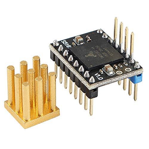 YIYIO for Nema17/23 Engine Replacement 3D Printer Accessories TMC5161 V1.0 SPI High Power 3.5A Stepper Driver
