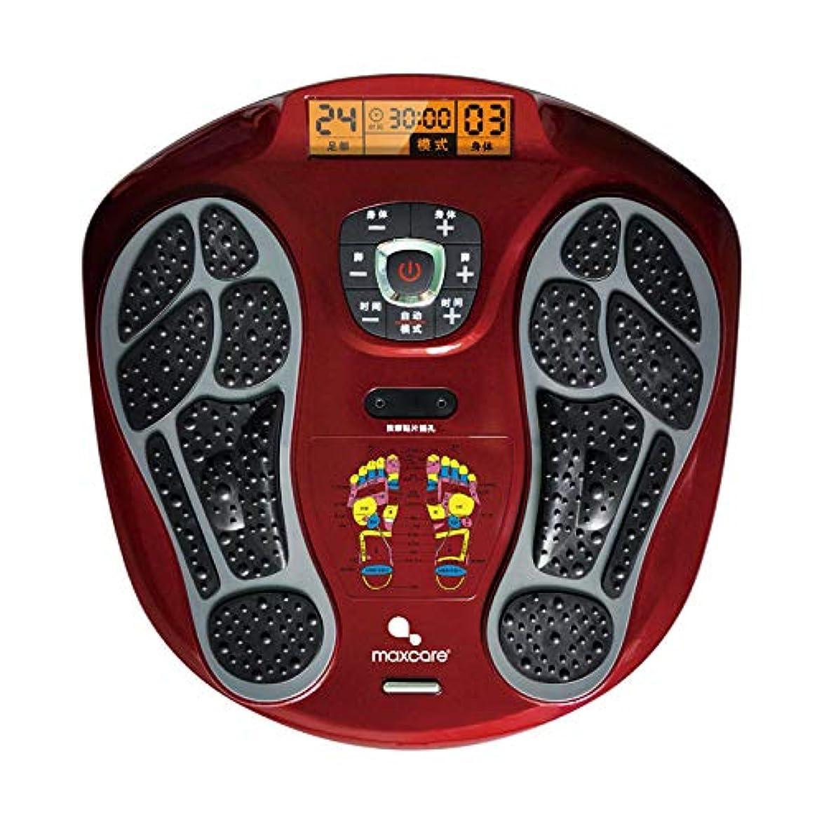 努力下手酸っぱいフルフットマッサージ体験のための、熱付きフットマッサージャー、LEDディスプレイスクリーンリラックス疲れて痛む足