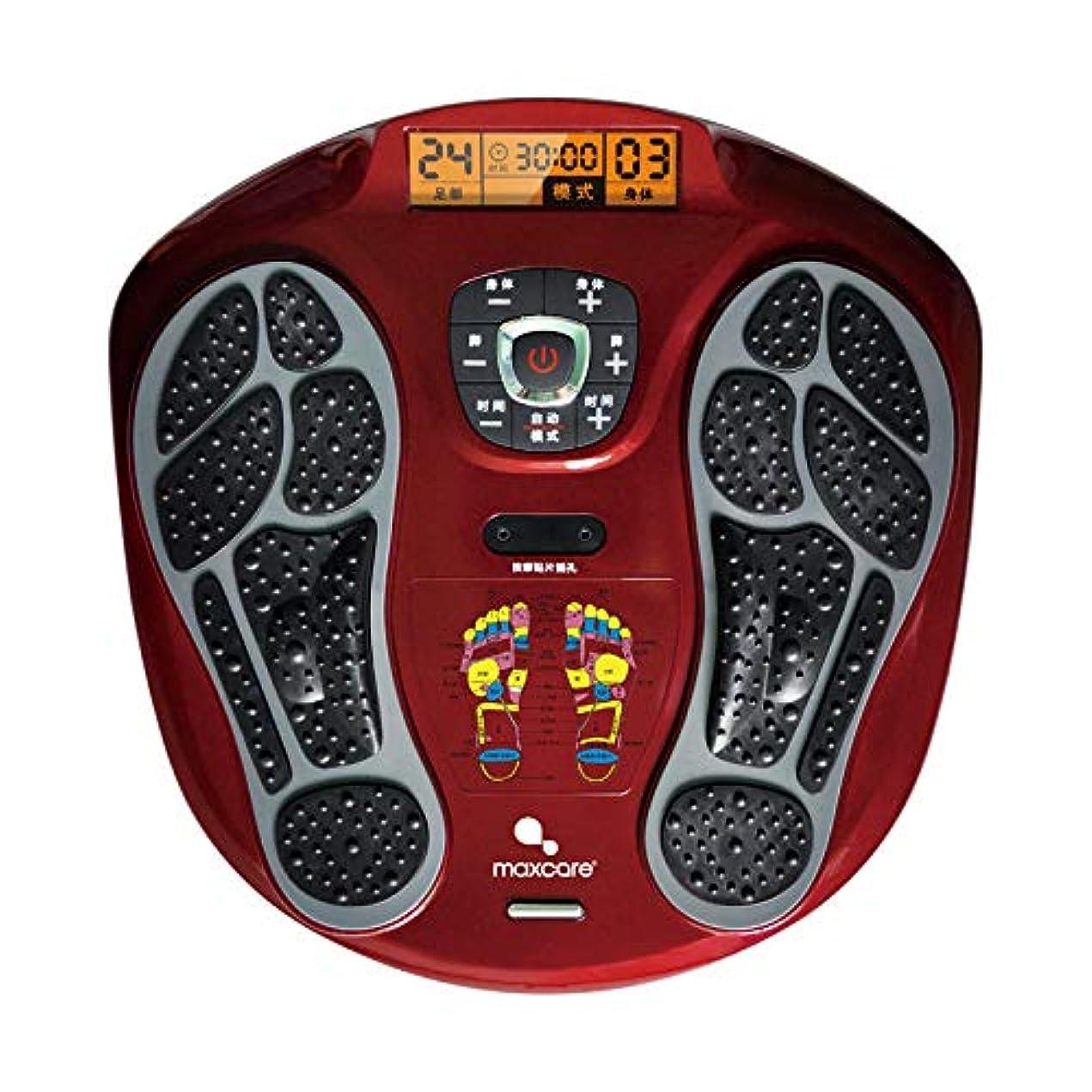 着実に固める概要フルフットマッサージ体験のための、熱付きフットマッサージャー、LEDディスプレイスクリーンリラックス疲れて痛む足