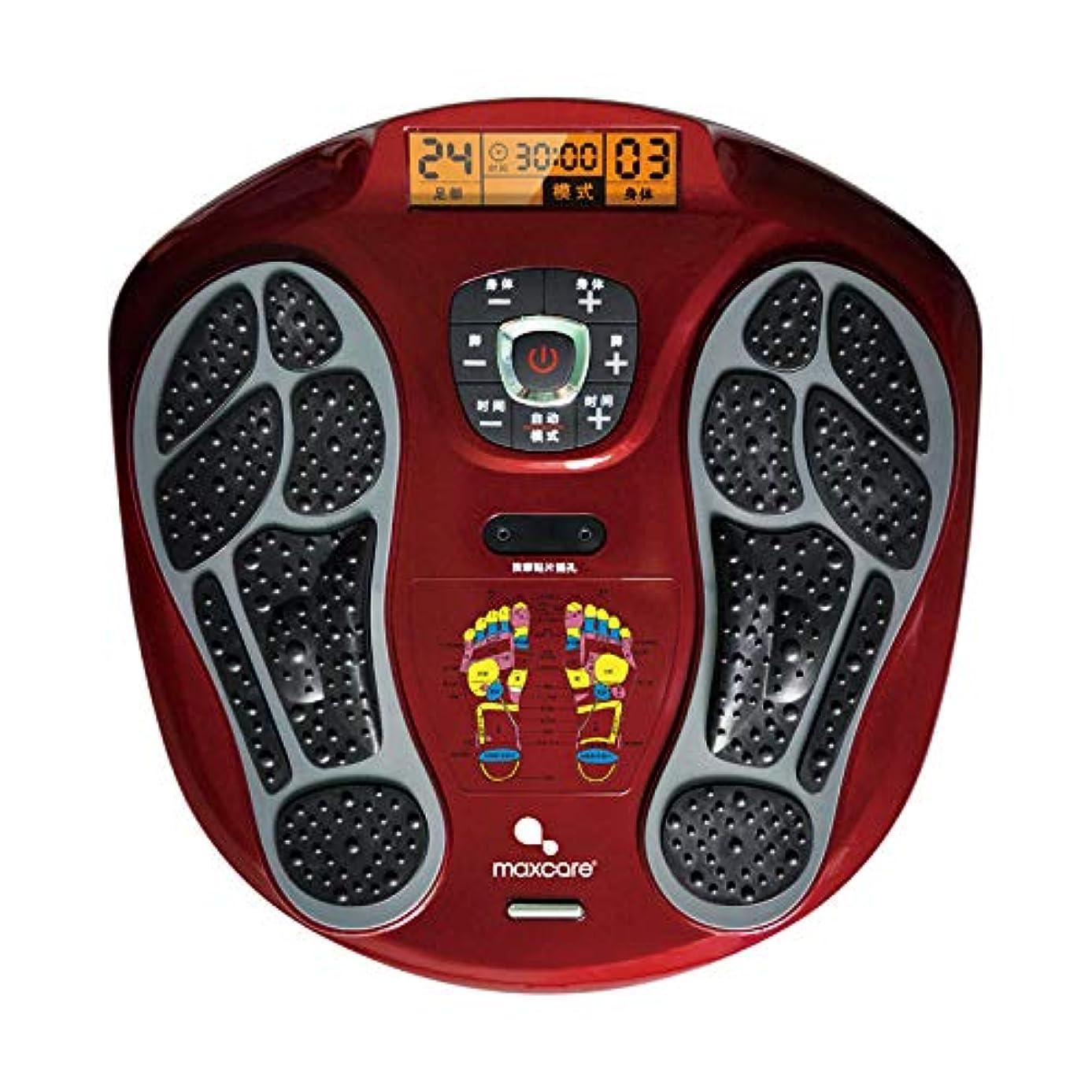 不承認性交単に電気の フルフットマッサージ体験のための、熱付きフットマッサージャー、LEDディスプレイスクリーンリラックス疲れて痛む足 人間工学的デザイン