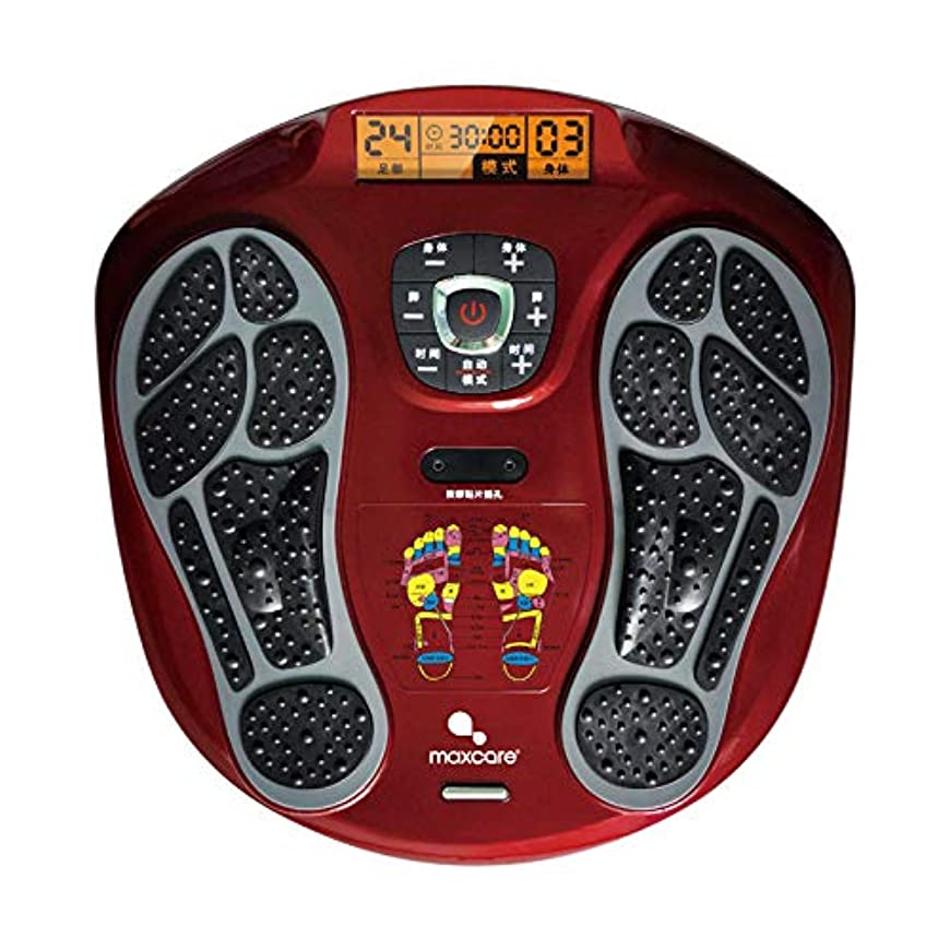 電気の フルフットマッサージ体験のための、熱付きフットマッサージャー、LEDディスプレイスクリーンリラックス疲れて痛む足 人間工学的デザイン