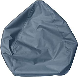 Non-brand Waterproof Bean Bag Covers Without Filling Pillows Toys Blankets Organizer - Gray