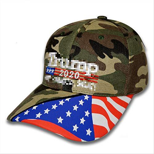 No brand Cappello, Cappellino da Baseball casualCappello da Sole da Pesca all'apertoCappello da Sole Sportivo Codice Medio Samsung Stampato Bandiera Camouflage