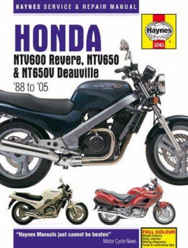 H3243 Honda NTV600 Revere NTV650 NT650V Deauville 1988-2005 Repair Manual