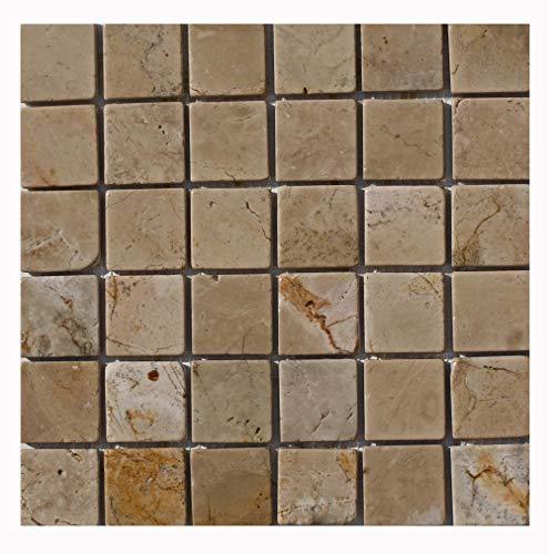 Mosaikfliesen - PA-808 - Antikmarmor Mosaik Wandfliesen Bodenfliesen Naturstein Fliesen Lager Verkauf Stein-mosaik Herne NRW