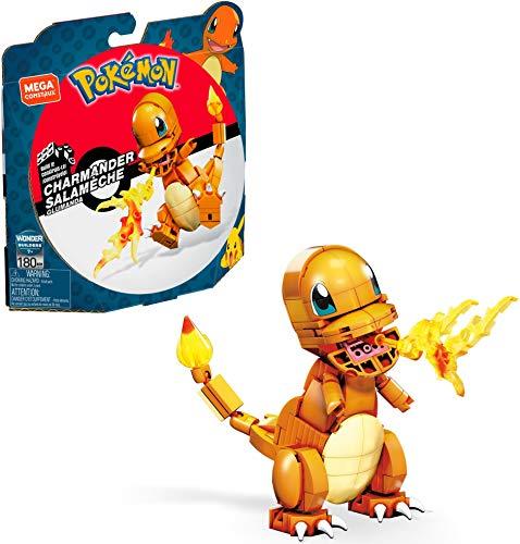 Mega Construx - Pokemon Figuras Medianas Charmander (Mattel GKY96) , color/modelo surtido