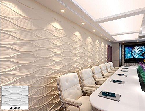 6 m², Paneele 3D Platten Wanddekoration Wandpaneele Dekoration, Grace