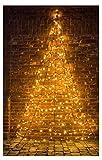 Star-Max Árbol de Navidad LED de 400 cm de altura, color negro, 35251