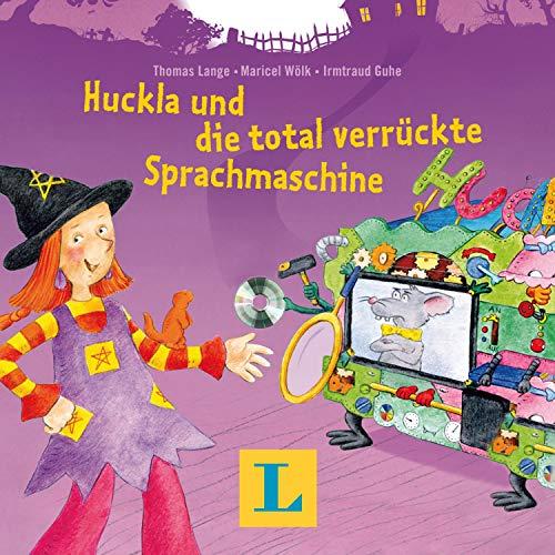 『Huckla und die total verrückte Sprachmaschine - Englisch mit Hexe Huckla』のカバーアート