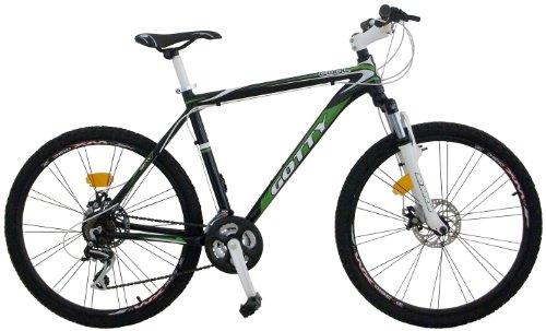 """Gotty Bicicleta de montaña Cool, 26"""" Aluminio Hidroformado, 21 velocidades, con suspensión de Aluminio y Frenos de Disco"""