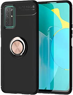 Dalchen Compatible for Case Huawei Honor 30S, Invisible Metal 360°Rotatable Ring Bracket, Kickstand for Magnetic Car Moun...