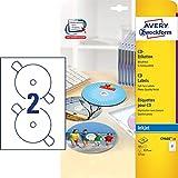 AVERY Zweckform C9660-25 CD-Etiketten weiß