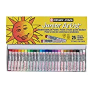 Sakura Cray-Pas Junior Artist Oil Pastels, Assorted Colors, Set of 25