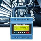 Medidor de Flujo Ultrasónico Portátil, TUF-2000M DN15 ~ DN100mm Salida OCT Flujo Ultrasónico/Módulo de Calor Medidor de Flujo de Líquido Medidor de Caudal Multicanal con 1000m de Larga Distancia