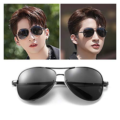 SSN Gafas De Sol Polarizadas Gafas De Sol para Hombre Trend Conductor Special para Conducir Tormenta Ojos Guapos (Color : B)