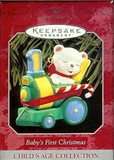 Hallmark Keepsake Ornament - Baby's First Christmas 1998 (QX6603)