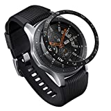 Ringke Bezel Styling for Galaxy Watch 46mm / Galaxy Gear S3 Frontier & Classic Bezel Ring Adhesive Cover Anti Scratch Stainless Steel Protection [Stainless] for Galaxy Watch Accessory GW-46-03