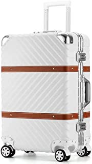 NJC Trolley Case, Water Ripple Luggage Storage Box, Aluminum Frame, Chassis, Consignment Box,
