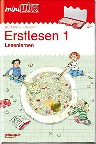miniLÜK-Übungshefte: miniLÜK: 1. Klasse - Deutsch: Erstlesen 1