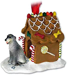 Best Conversation Concepts Irish Wolfhound Gingerbread House Christmas Ornament - Delightful! Review