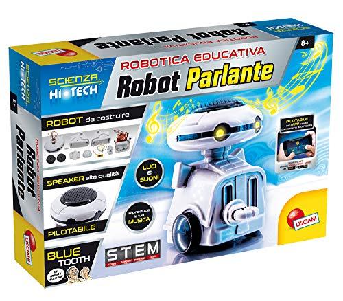 Liscianigiochi- Scienza Hi Tech Bluetooth Robot Parlante, Multicolore, 68746