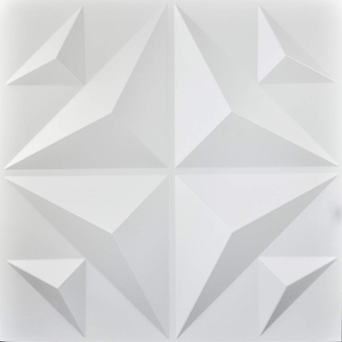 Art3d Decorative High quality new 3D Panels Textured Courier shipping free Wall Board White 12 Design
