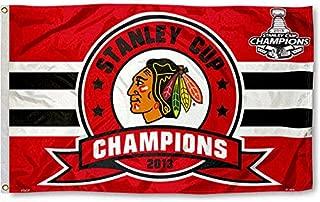Fremont Die Chicago Blackhawks 2013 Stanley Cup Champs Flag 3x5 Banner