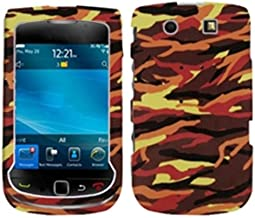 MYBAT BB9800HPCIM678NP Slim and Stylish Protective Case for Blackberry Torch 9800 - 1 Pack - Retail Packaging - Camo/Yellow