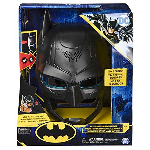 Bizak- DC Comics Batman Mascara Cambio Voz Bat Tech (61927833)