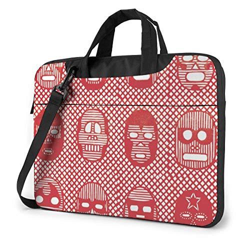 Laptop-Tasche Computer-Tasche Ärmelabdeckung Kunstpapier geschnitten wasserdichte Schulter Aktentasche