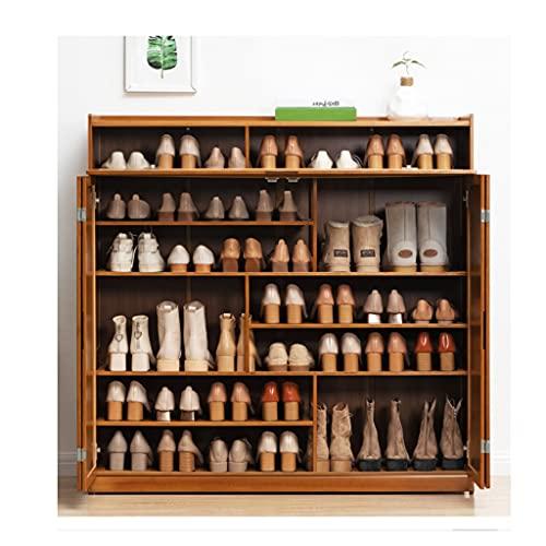 OIFFIY Gabinetes de Zapatos para el hogar Dormitorio Entrada Estante de Zapatos Almacenamiento Multi Capa Polvo Shoebox Zapato Rack Cabinete