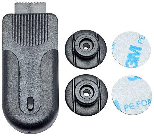 Arkon Swivel Belt Clip Holder for Smartphones Cameras Radios Walkie Talkies Remotes, Black - CM221
