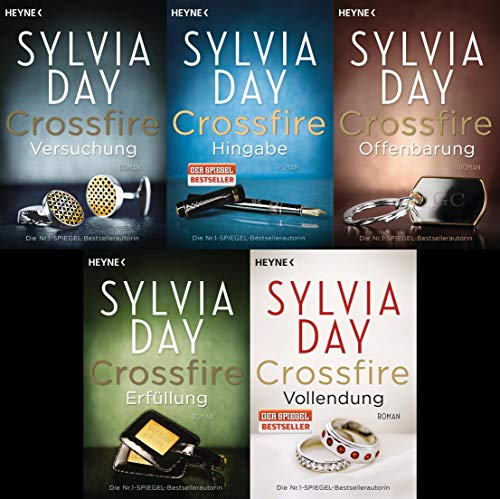 Sylvia Day Crossfire Reihe