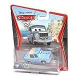 Disney Pixar Cars 2 Movie Die-Cast No. 43 Otis (Super Rare Chase Piece) [1:55 Scale] by Mattel