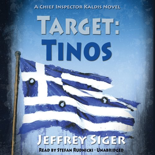Target: Tinos Audiobook By Jeffrey Siger cover art