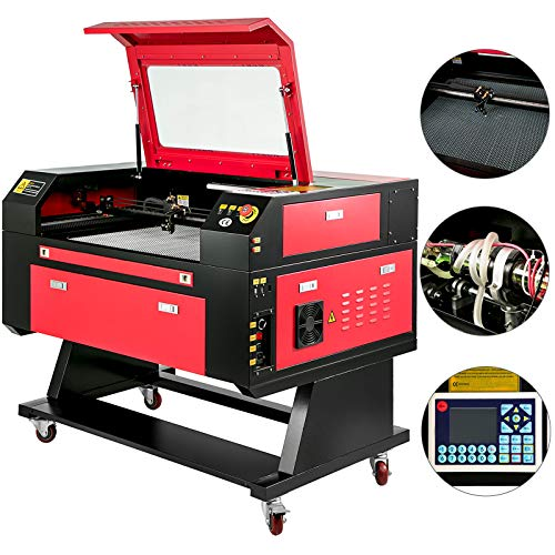 Mophorn Laser Engraving Machine 80W Co2 Laser Engraving Cutting Machine 20x28Inch Laser Engraver Machine Micro Stepping Motor Woodworking Crafts Engraver Machine