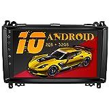 AWESAFE Android 10.0 [2GB+32GB] Radio Coche con Pantalla Táctil 9 Pulgadas para Mercedes-Benz , Autoradio para Clase A W169/Clase B W245/Clase V W639 Vito Viano/W906 Sprinter 2500/3000, con Bluetooth