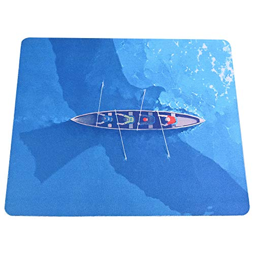 Simple Rowing Mouse Pad Without Wrist Support Cute Rowing Mouse Pads Use for Gaming Computer Laptop Home Office amp Travel Rowing