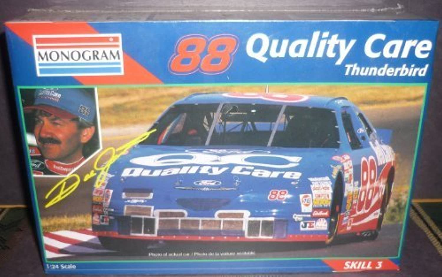 2472 Monogram Dale Jarrett  88 Quality Care Thunderbird 1 24 Scale Plastic Model Kit by Monogram (English Manual) B00OVNVNEY Offizielle Webseite   | Internationale Wahl