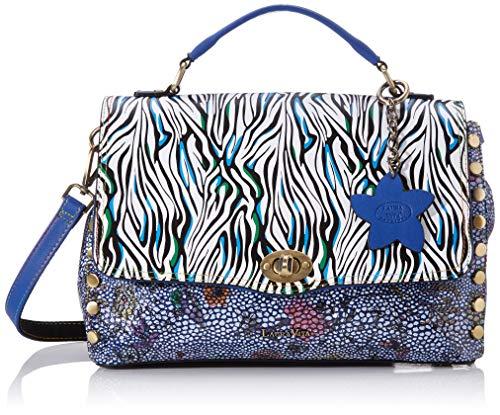 Laura Vita Damen 3115 Tornistertasche Blau (Bleu)