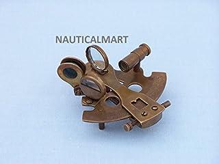 Sammlerstück nautisch Sextant 4 Messing Sextant Maritim Messing Antiquität Fert Nautika & Maritimes