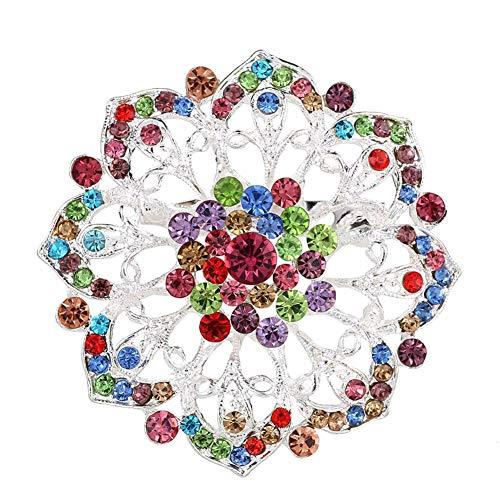 KAIKUN Badge Badges and Pins Crystal Brooch Brooches for Women Vintage Diamante Brooch Pearl Brooch Vintage Brooches for Women Brooches for Women