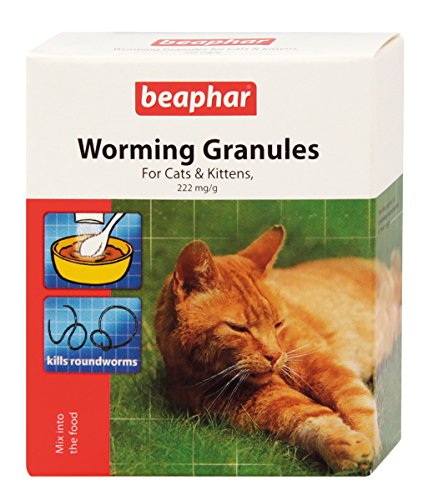 Sherleys Worming Granules for Cats 50g - Bulk Deal of 6x