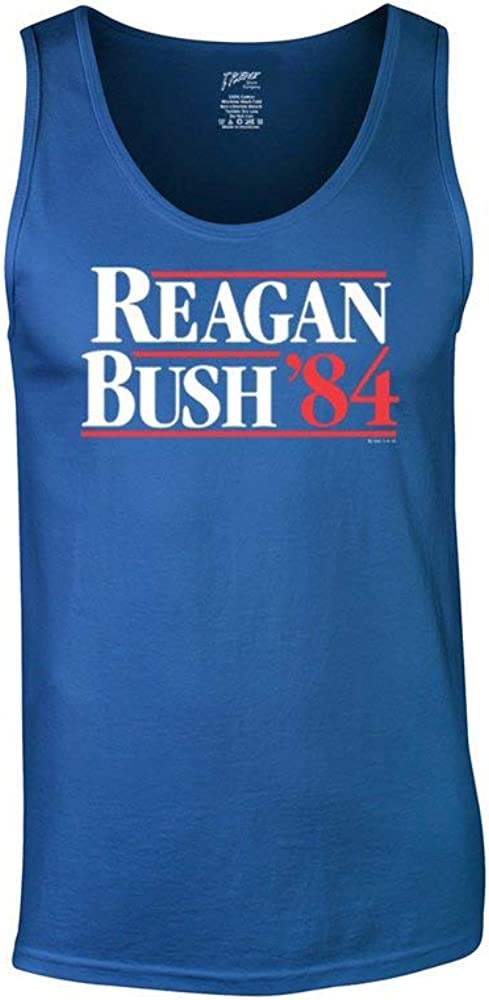 Trenz Shirt Company Ronald Reagan Bush '84 Retro Tank Limited price sale Cool Top Large special price