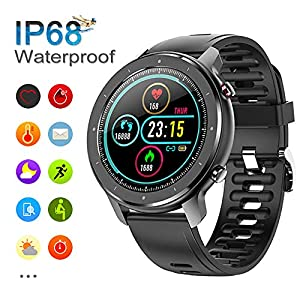 Reloj Inteligente Hombre, Smartwatch con Pantalla táctil, Fitness Tracker Impermeable IP68, Reloj Pulsometro Deportivo… 16