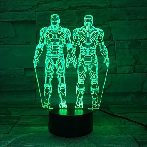jiushixw 3D kleur veranderende nachtlamp met afstandsbediening eettafel staande lamp kunststof eend plezier kinderen speelgoed computer bureaulamp