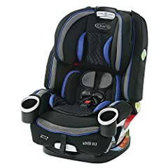 4 in 1 car seat gives you 10 years of use: seamlessly transforms from rear facing harness car seat (4 40 pound ), to forward facing harness car seat (22 65 pound ), to highback belt positioning booster (40 100 pound ), to backless belt positioning bo...